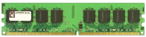 DDR2 1Go PC2-4200 533Mhz ECC CL4 (KVR533D2E4/1G) 1 Go - mémoire sans tampon - DIMM 184 broches -...