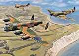 Battle of Britain Memorial Flight Wooden (500pc) Jigsaw Puzzle by Wentworth Wooden Jigsaw Puzzles