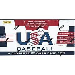 Buy 2013 Panini Team USA Baseball set by Panini