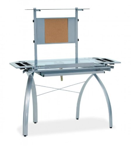 Studio Designs Glass Top Futura Tower Drafting Station [Kitchen] PNo: 10057