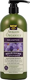 Avalon Organics Nourishing Lavender Shampoo 32 Ounce