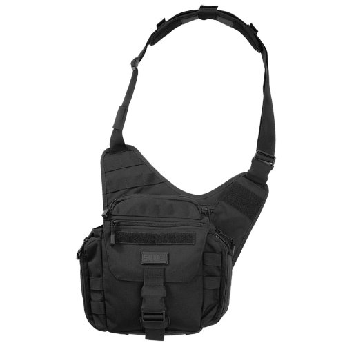 5.11 Tactical Push Pack MOLLE Utility Shoulder Bag Black