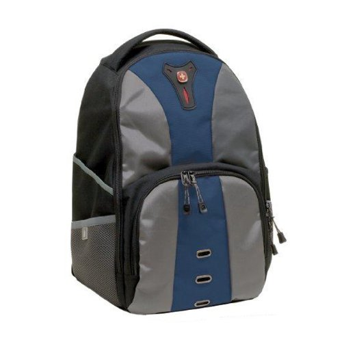 Wenger Swiss Gear JASPER Laptop Notebook Computer Backpack - Blue