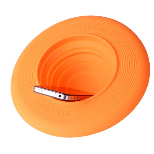 Thumbs Up Fli-Tunes Disco Volante Speaker, Arancio