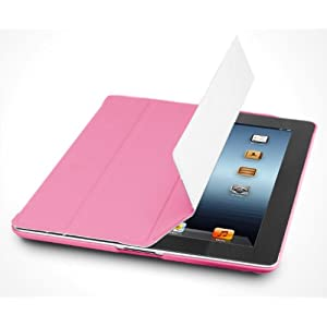 Photive SlimPad Ultra Slim Smart Cover Case for the New iPad - Side