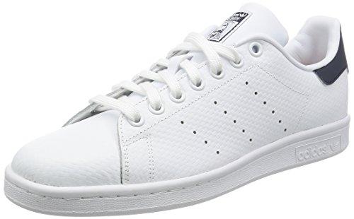 adidas-stan-smith-gymnastique-homme-blanc-casse-bianco-ftwwht-ftwwht-conavy-44-eu