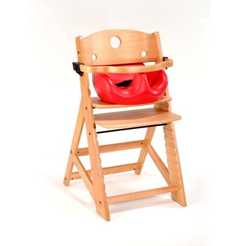 !Sale Keekaroo High Chair And Infant Insert Rail, Cherry