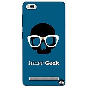 Designer Xiaomi Mi4i Case Cover Nutcase -Inner Geek
