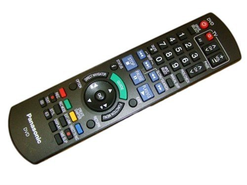 Panasonic DMR-EZ49V DVD VHS Enregistreur Télécommande Véritable