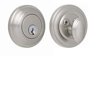 Rockwell Premium Forged Solid Brass Low Profile Entry Door Deadbolt Durable Hardware Door Locks
