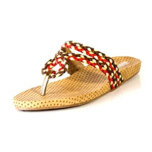 Blue Beauty Women's Multicolor Synthetic Casual Slippers