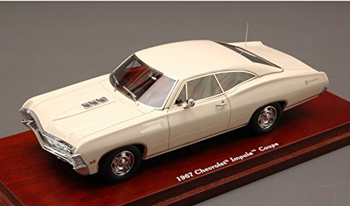 chevrolet-impala-coupe-1967-cream-143-true-scale-miniatures-auto-stradali-modello-modellino-die-cast
