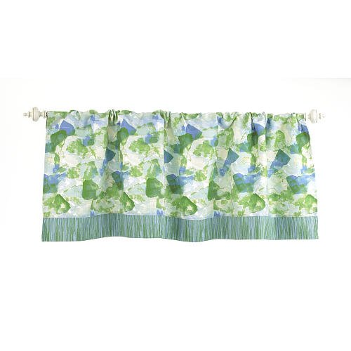 Truly Scrumptious Dinosaur Tracks Nursery Bedding Collection (Window Valance)