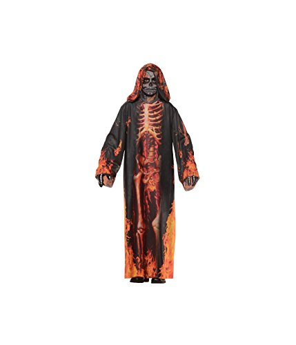 Big Boys' Scary Underworld Skeleton Robe big Costume