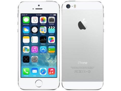 海外版SIMフリーApple iPhone5S 32GB シルバーsim free シムフリー