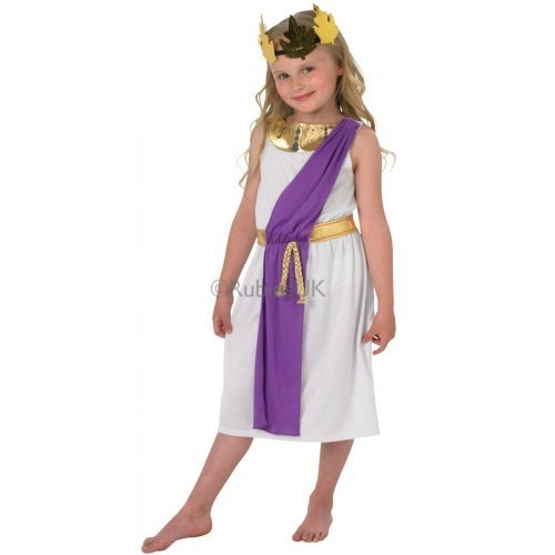 Fancy Dress - Roman Girl Costume - CHILD SMALL