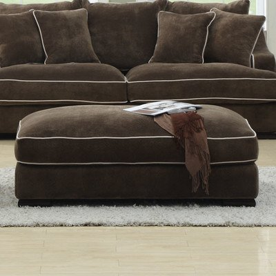 Aspira Home U3174-03-05 Luxe Cocktail Ottoman - 1