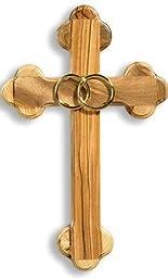 Olive Wood Wedding Marriage Cross