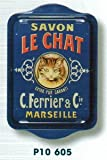 French Classics Le Chat Small Metal Tray