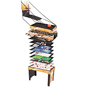 Ultrasport Game Table 15 in 1 Game Zone - table size 42 x 24 x 31