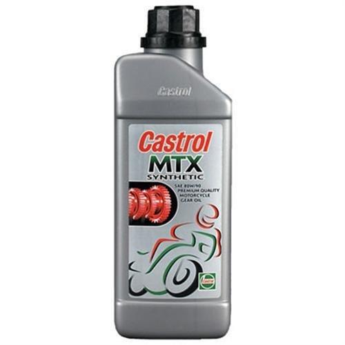 Castrol 12376 MTX Synthetic Gear Oil 2-Stroke/4-Stroke (SAE 80/85wt) - 1 Liter (12376) (Castrol Gear Oil compare prices)