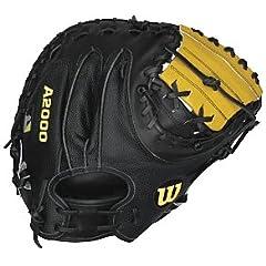 Wilson A2000 1790 34 Catcher Baseball Mitt (Right Hand Throw) by Wilson