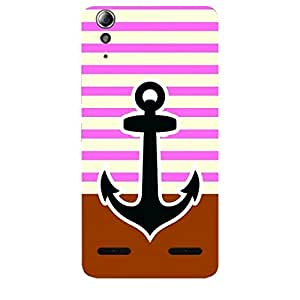 Skin4gadgets Anchor in beautiful Neapolitan Pattern 25 Phone Skin for LENOVO A6000