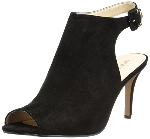 Nine West Womens Instafun Suede Boot,Black,9 M US