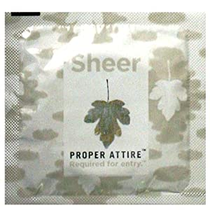 Proper Attire Sheer Condoms 24 Pack