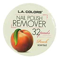 L.A. Colors Nail Polish Remover Pads 964 Peach Scent
