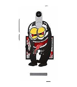 EPICCASE Minion Symbiote Mobile Back Case Cover For Xiaomi Redmi Note 3 (Designer Case)