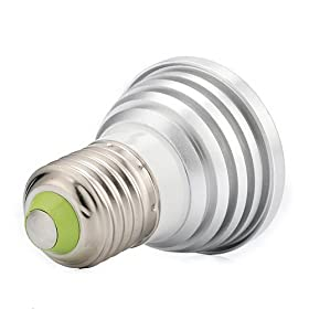 Multi-Color E27 LED Light Bulb with Remote