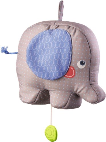 HABA Elephant Egon Musical Box Baby Toy - 1