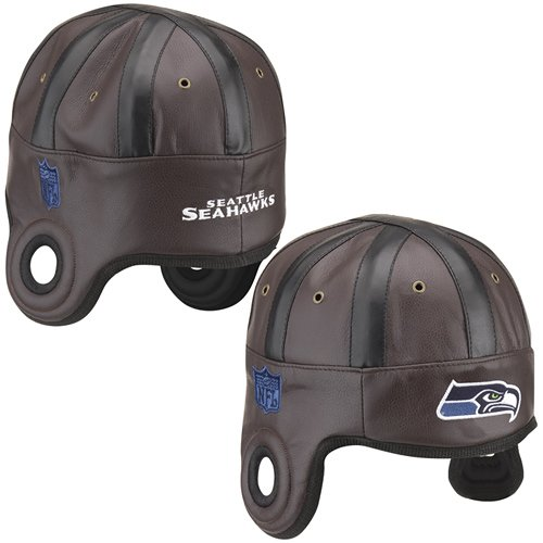 NFL Seattle Seahawks Faux Leather Helmet Head