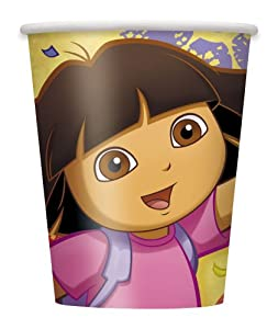 Unique Dora The Explorer 9 Oz. Cups, 8-Piece at Sears.com