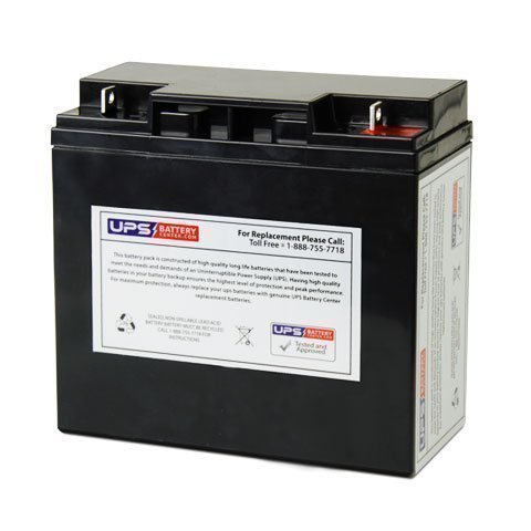 12V 18AH SLA Replacement Battery for Alien Bees Vagabond II (Vagabond Battery compare prices)