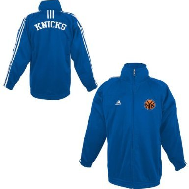 Adidas New York Knicks Youth (Sizes 8-20) 3-Stripe