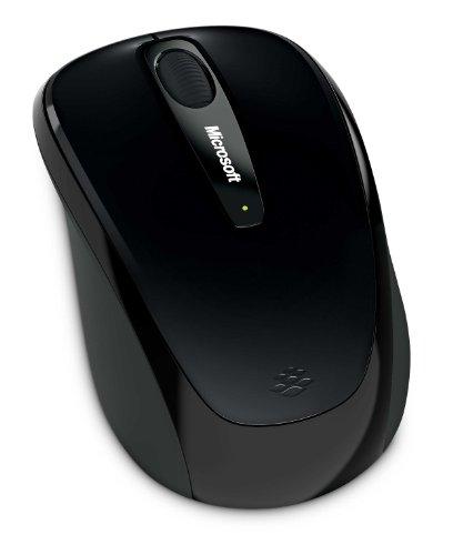 マイクロソフト ワイヤレス ブルートラック マウス Wireless Mobile Mouse 3500 シャイニーブラック GMF-00297