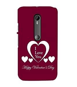 EPICCASE valentines day Mobile Back Case Cover For Moto G Turbo (Designer Case)