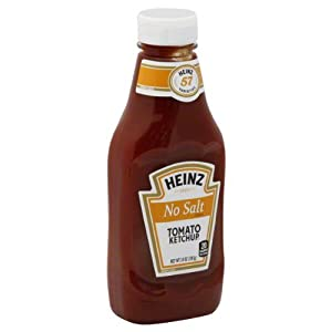 Heinz No Salt Tomato Ketchup 14 oz