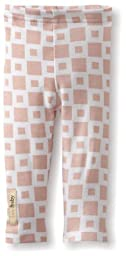 L\'ovedbaby Baby-Girls Infant Legging, Miles Of Tiles Pink, 0-3 Months