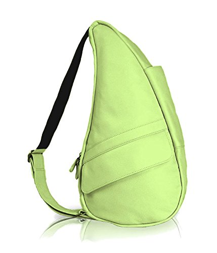Classic Leather Healthy Back Bag® Extra Small Sling Color: Celery