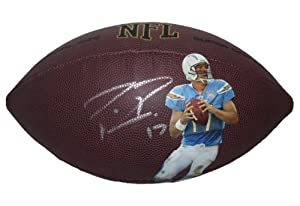 Philip Rivers Autographed Signed Custom San Diego Chargers Photo NFL Wilson Composite...