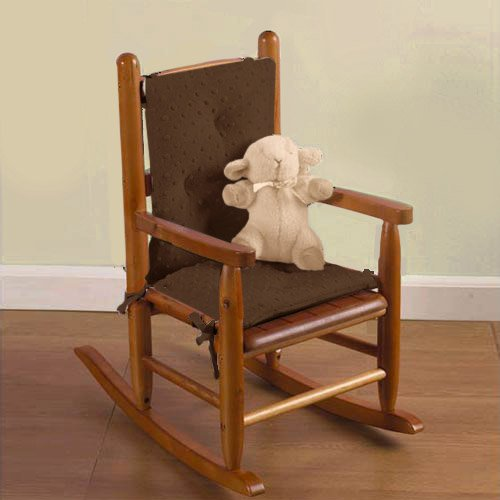 Baby Doll Bedding Heavenly Soft Child Rocking Chair