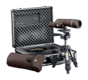 Leupold GR Compact Spotting Scope Kit, Brown, 15-30 x 50mm by Leupold