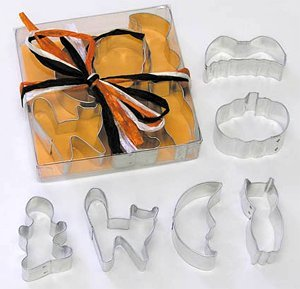 Halloween Cookie Cutter Set - mini - 6 pcs