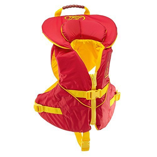 Stohlquist Unisex Infant/Toddler Nemo Infant Life Jacket/Personal Floatation Device (Red/Yellow, Less Than 30-Pound) (Type Ii Infant Life Jacket compare prices)