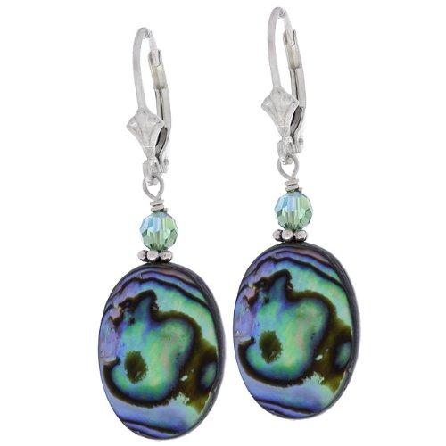 Charming Life Rainbow Paua Shell Earrings