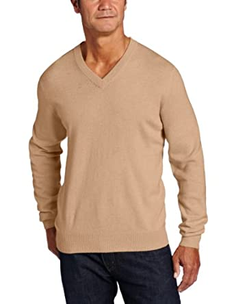 Raffi Linea Uomo Men's 100% Cashmere V-Neck Sweater