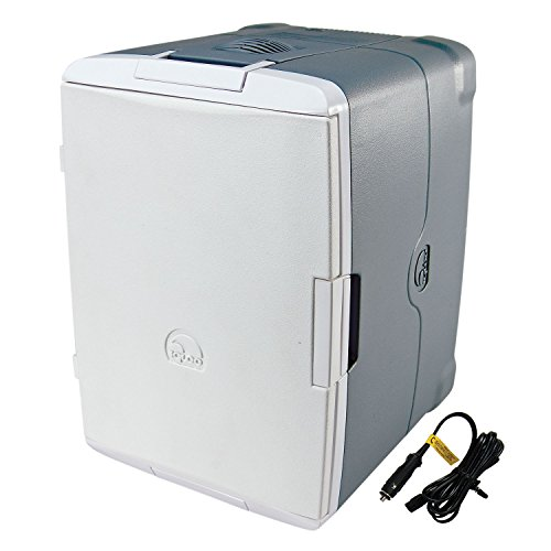 Igloo 40375 Iceless 40-Quart with 110-volt Converter Coolers, Silver (12v Thermoelectric Cooler compare prices)